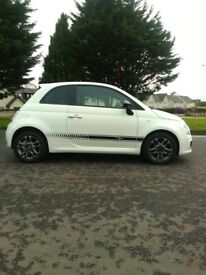 image for STUNNING 2014 Fiat, 500 Sport, 3 Dr Hatch, MOT Oct-2021. 22,700 miles, Full Service History. PX Cons