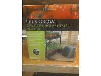 Greenhouse heater 2 kw