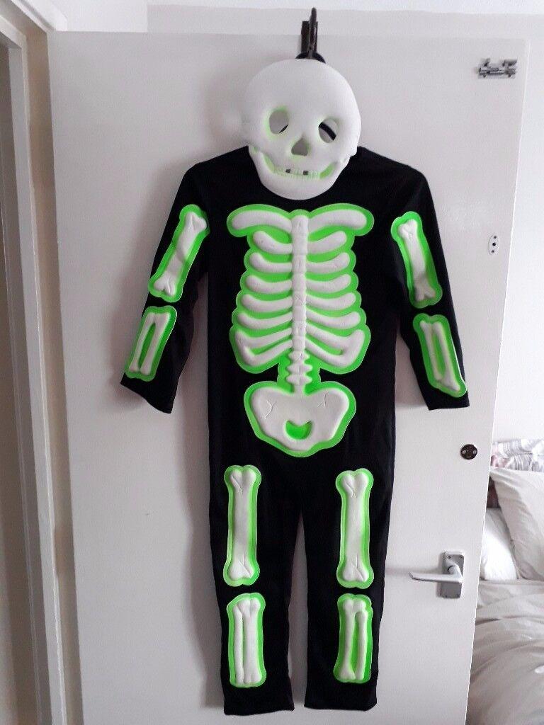 glow in dark costume