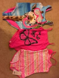 3 lovely girls swimsuits age 10