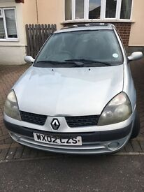 Renault Clio 2002 - For Sale