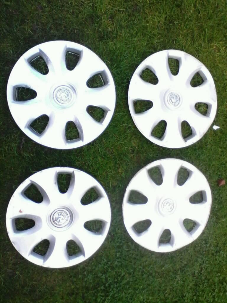 15 inch wheel trim ' s / VAUXHALL corsa 2009