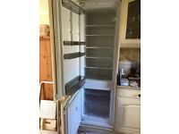 Built in Integrated NEFF Fridge Freezer For Sale