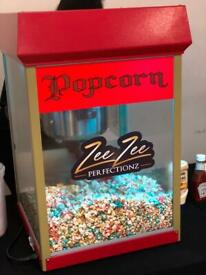 Party hire: Popcorn, Candy floss, Slush, Waffles, Choc fountain, Hot dog and many more....