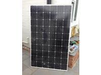 Large shattered 275w solar panel