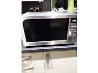 DeLonghi microwave oven and grill