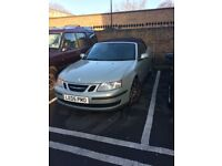 Saab convertible linear automatic 2005