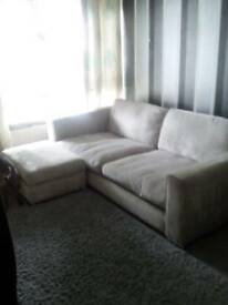 Large footstool with storage