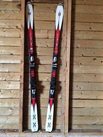 Rossignol Bandit X All-Mtn Freeride Skis with bindings