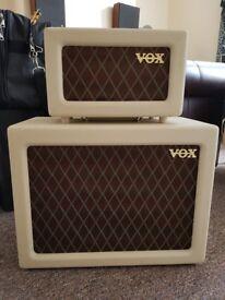 VOX AC4 Guitar Amplifier (amp) Head and Speaker Cabinet