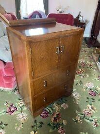 Antique vintage retro furniture Gentleman's chest