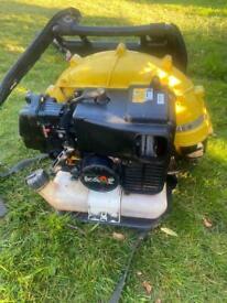 KAAZ Kawasaki professional petrol back pack blower PWO any test lawnmower trimmer mower leaf vacuum