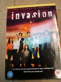 Invasion season 1 DVD