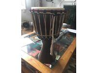 Vintage Indian drum bought in Rajasthan