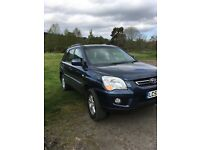 Kia Sportage, excellent condition out and in 12 months mot facelift model lots of extras