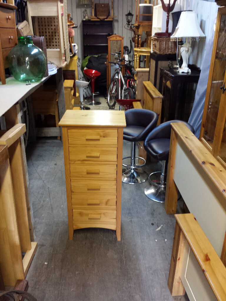 solid pine chest of drawers.newryin Newry, County DownGumtree - solid pine chest of drawers. .. H 107 W 48 D 39 cm.35 pound... free delivery in newry
