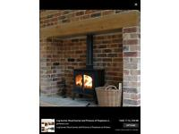 Hetas wood coal burner stove fire installer chimney sweep and gas work