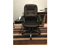 Black Height Adjustable Office Chair
