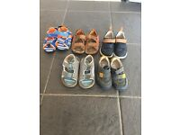 Clarks shoes and sandals size 5