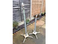 Freestanding heavy duty squat supports rack