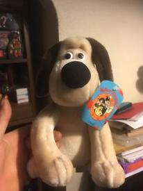 Wallace and Gromit collectible plushies