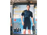 Men's neoprene shortie wetsuit
