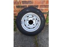 "13"" Trailer Wheel - 4.5J - 145/80/13 - Good Tyre"