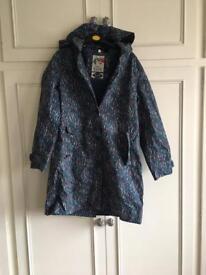 Seasalt 3/4 length raincoat size 14