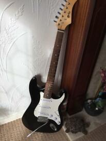 Electric guitar as new .