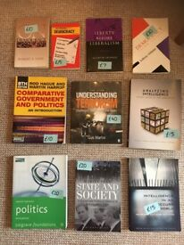 Core Politics textbooks. Excellent as new condition.