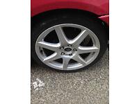 honda civic type r fn2 gt 06 to 11 set 18'' alloy wheels