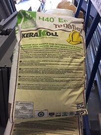 Tenaflex Tile Adhesive H4O Eco 25kg Bags, Brand New still bagged