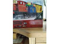 Santa express electric train set