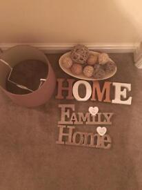 Brown home accessories