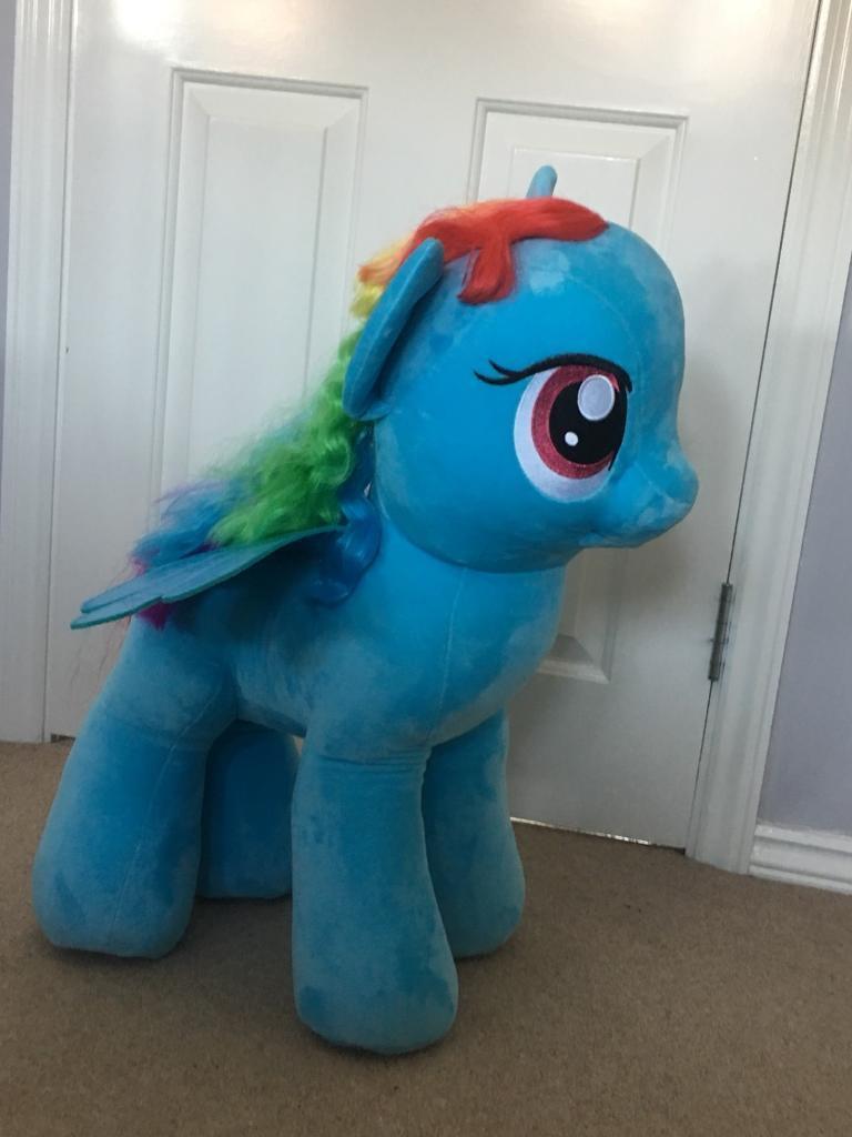 Giant Ty Rainbow Dash My Little Pony Plush Toy In Hucknall