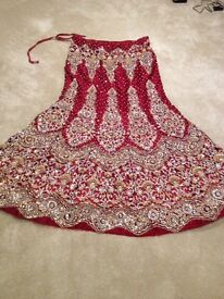 Asian wedding lehnga clothes