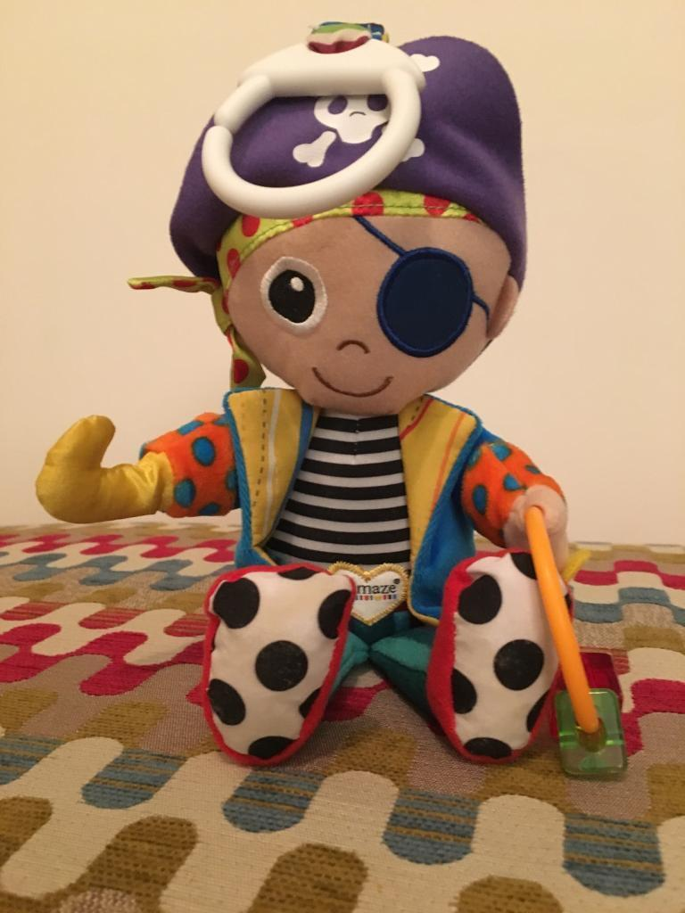 Lamaze pirate toy