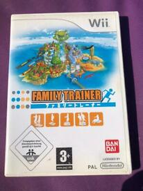 Family trainer Nintendo wii