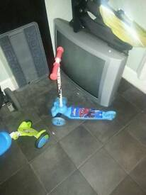 Spiderman scooter never used