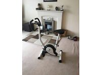 Basic Exercise bike, timer display distance & calories burnt