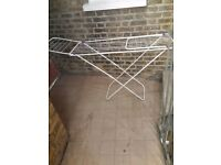 MEANT CONDITIONS WINGED CLOTHES AIRER DRYING RACK INDOOR FOLDING LAUNDRY STAND