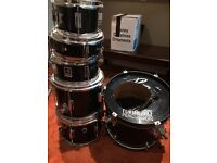 For Sale, 6 piece drum kit, made by PP Percussion, ideal starter kit, including snare and stands
