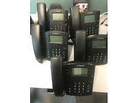 5 x Polycom VVX 310 Office Phones