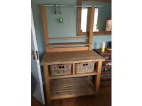 Habitat Solid beech unit