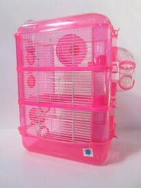 Large Hamster Cage - Fantazia pink and purple RRP £34.99