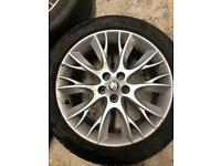 Jaguar winter wheels / alloys and tyres / XF
