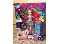 My Little Pony:Equestria Girls Rockin' Hairstyle Fluttershy Doll