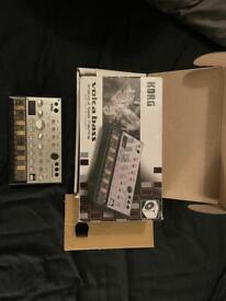 Korg volca Bass analogue synthesiser