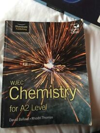 WJEC CHEMISTRY A2 TEXTBOOK FOR SALE