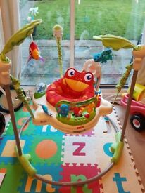 Fisher-price rainforest jumperoo. Nearly-new condition. Pet and smoke free home.